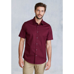 Chemise Homme Manches Courtes coton/elasthanne 140 KARIBAN