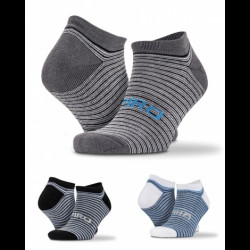 Chaussettes Rayees Pack 3 Paires Mixed - SPIRO